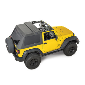 QuadraTop Adventure Top S perJeep Wrangler JK 2 porte 07-18