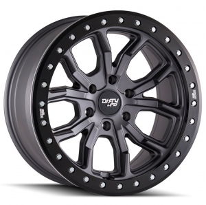 Cerchio in lega Dirty Life Race Wheels DT-1 9303 Beadlock simulato 17x9