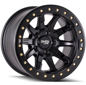 Cerchio in lega Dirty Life Race Wheels DT-2 9304 Beadlock simulato 20x9 Offset 0mm