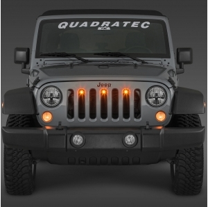 Luci LED Quadratec Pre-Runner Kit per Jeep Wrangler JK