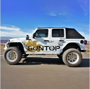 Suntop Ultimate Top Fastback U4 per Jeep Wrangler JLU 4 porte