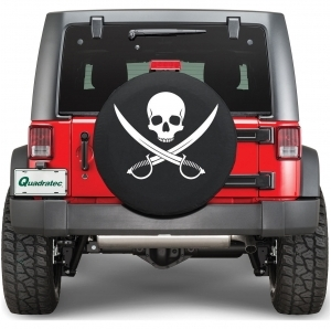 Copri ruota Quadratec Jolly Roger Clean Pirate