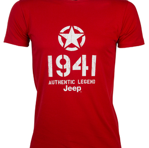 "T-SHIRT ""Star 1941"" Colore Red"