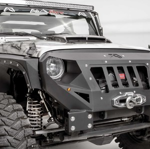 "Paraurti anteriore corto ""The Legend"" Jeep Wrangler JK"