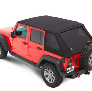 Bestop Trektop NX Plus Black Diamond Jeep Wrangler JK 4 porte
